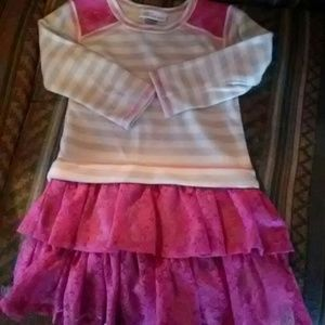 Bonnie Jean toddler girl sweatshirt dress